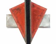 Rote Maske (mit Ebenholzeinlage), 2012