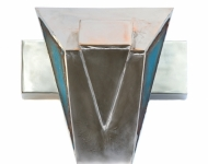 Blaue Maske(Trapez, Dreieck), 2010